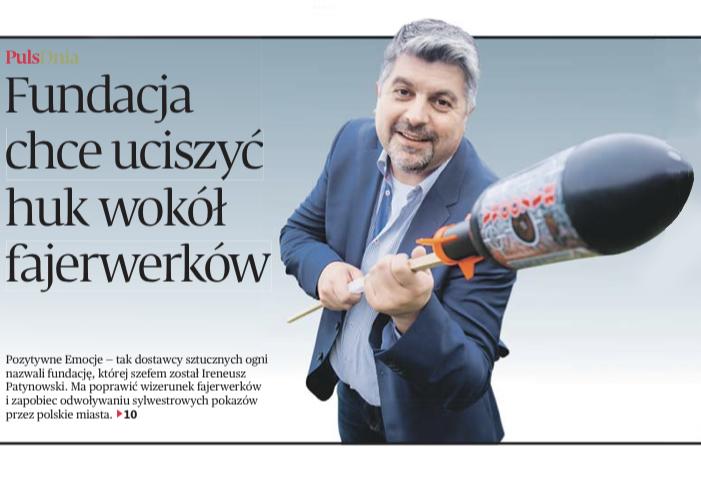 Polscy pirotechnicy kontratakują